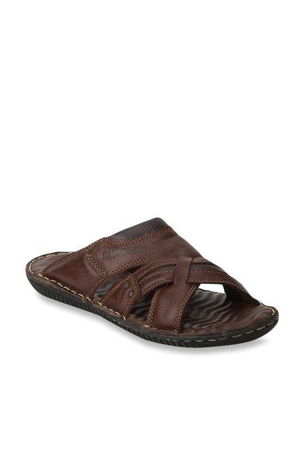 d95b82d01 Buy Red Chief Dark Tan Formal Sandals for Men at Best Price   Tata ...