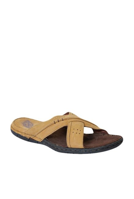 bfd54a0f3 Buy Red Chief Rust Cross Strap Sandals for Men at Best Price @ Tata ...
