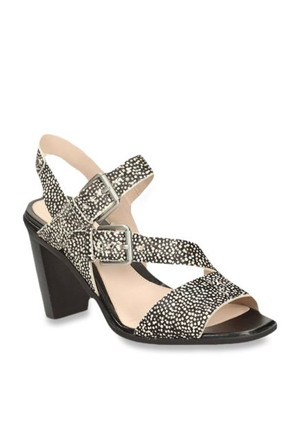 2a871e9703e Buy Clarks Image Dazzle Black Ankle Strap Sandals for Women at Best ...