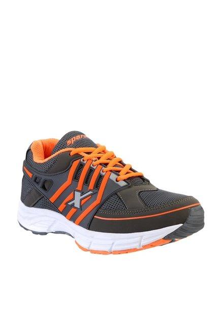 detailing e4e53 561fd Buy Sparx Grey & Orange Running Shoes for Men at Best Price ...