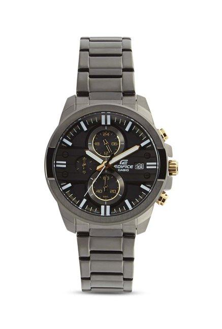 baf820a3f Buy Casio Edifice EFR-543BK-1A9VUDF (EX224) Chronograph Men's Watch at Best  Price @ Tata CLiQ