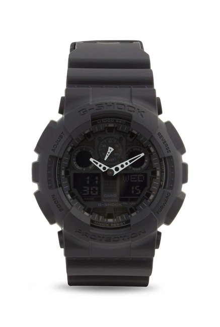 ce5e99d525ce Buy Casio GA-100-1A2DR G-Shock Analog-Digital Watch for Men at Best ...