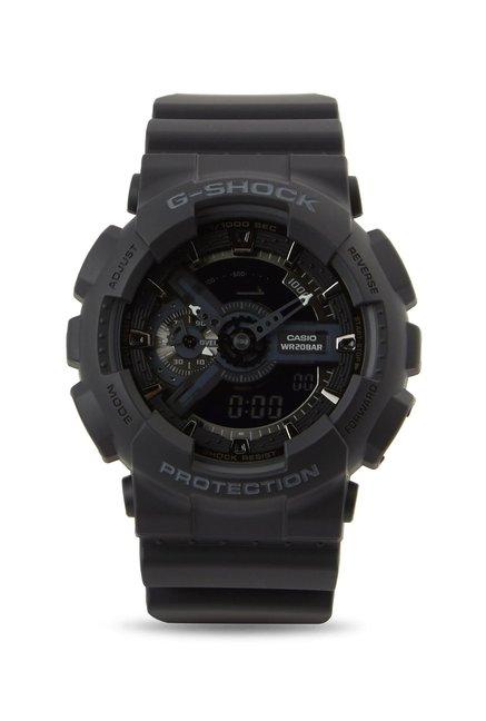 Buy Casio GA-110-1B G-Shock Analog-Digital Watch for Men at Best ... 2e1cea796