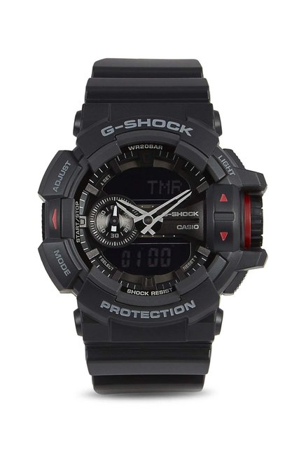 efa8e10bdd14 Buy Casio GA-400-1B G-Shock Analog-Digital Watch for Men at Best ...