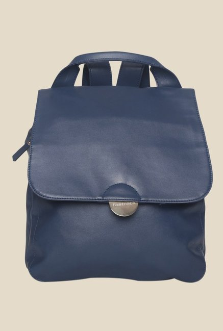 Fastrack Navy Solid Backpack