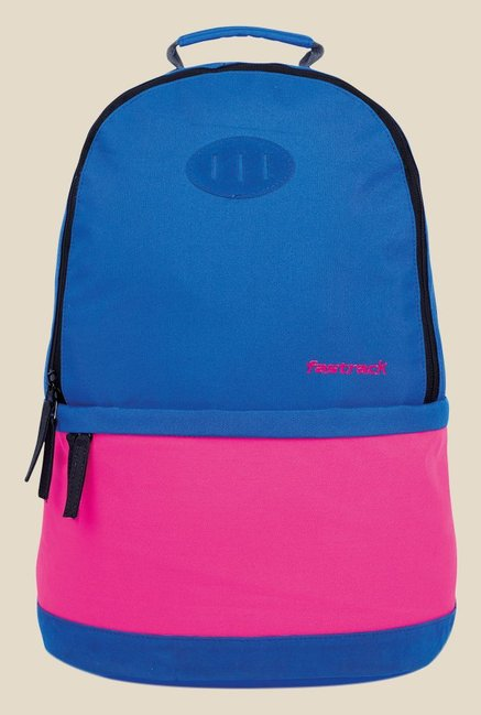 Buy Fastrack Blue and Pink Polyester Backpack For Women At Best Price    Tata CLiQ f94e02358a8dc