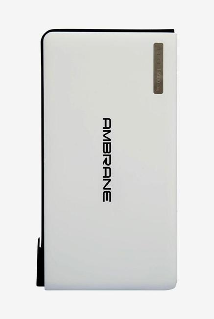 Ambrane Plush PP-1500 15000mAh Power Bank (White)