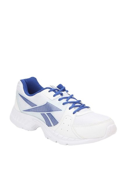 360bd0b7 Buy Reebok Speed Up Xt White & Blue Running Shoes for Men at Best Price @  Tata CLiQ
