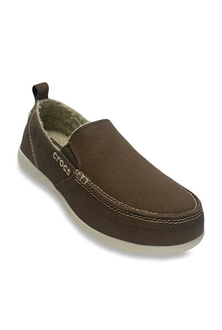 a407043289fe Buy Crocs Walu Lounger Russet   Stucco Casual Shoes for Men at Best Price   Tata  CLiQ