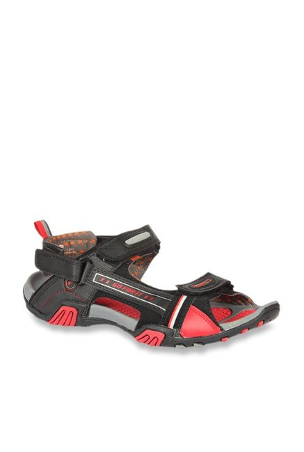 c9c98908e Buy Sparx Black   Red Floater Sandals for Men at Best Price   Tata ...