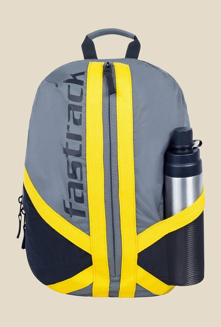 Fastrack Grey Nylon Backpack