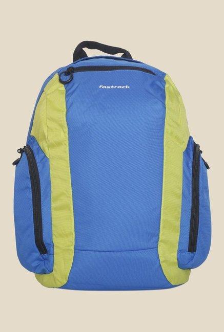 Fastrack Blue Polyester Backpack