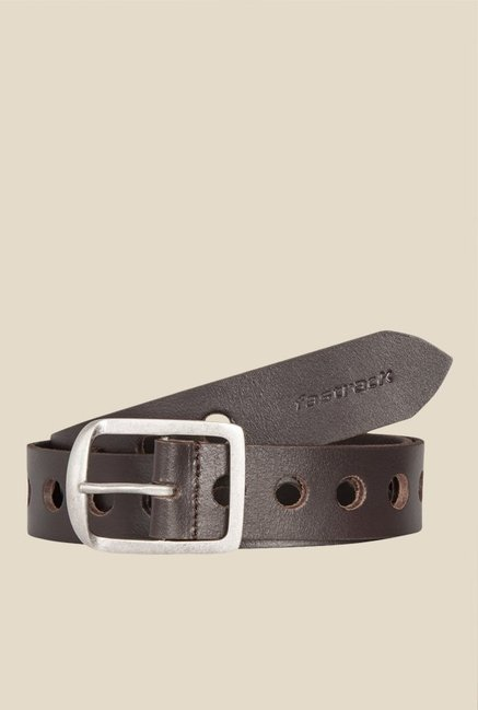 Fastrack Brown Leather Belt