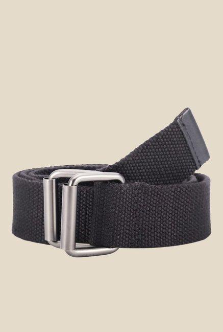 Fastrack Black Webbing Belt