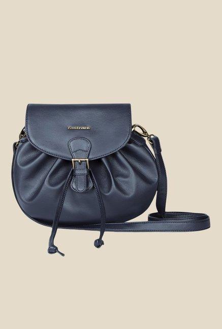 fbb984e2de Buy Fastrack Navy Solid Sling Bag For Women At Best Price   Tata CLiQ