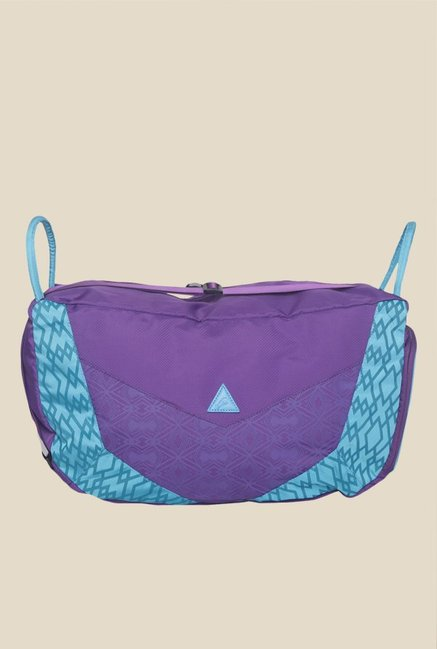 Fastrack Women Blue Pu Sling Bag