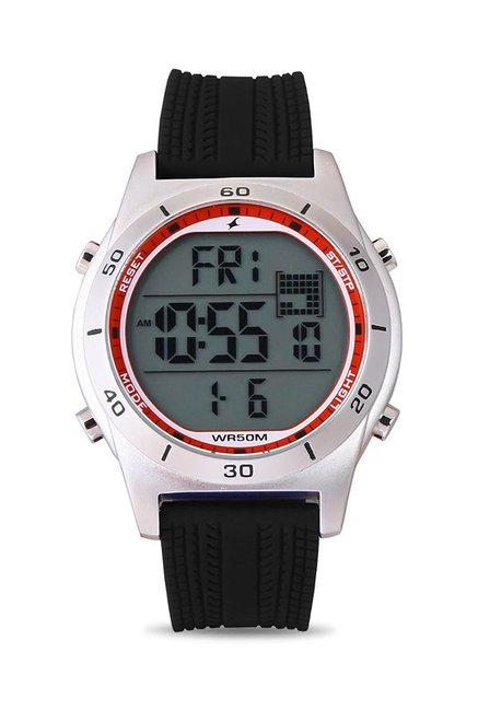Fastrack 38033SP01J Digital Black Dial Men's Watch (38033SP01J)