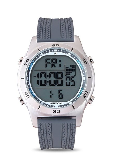 Fastrack 38033SP03J Sports Digital Grey Dial Men's Watch (38033SP03J)