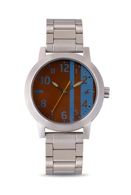 Fastrack 3162SM02 Analog Brown Dial Men's Watch (3162SM02)