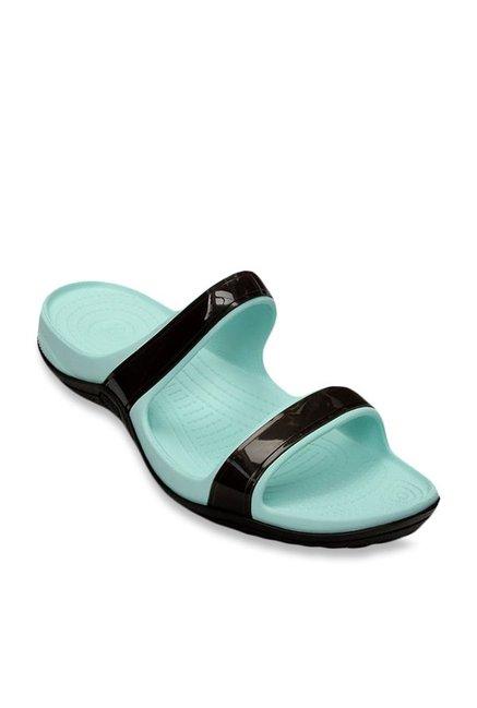 0d417405a Buy Crocs Patra II Espresso   Sea Foam Casual Sandals for Women at Best  Price   Tata CLiQ
