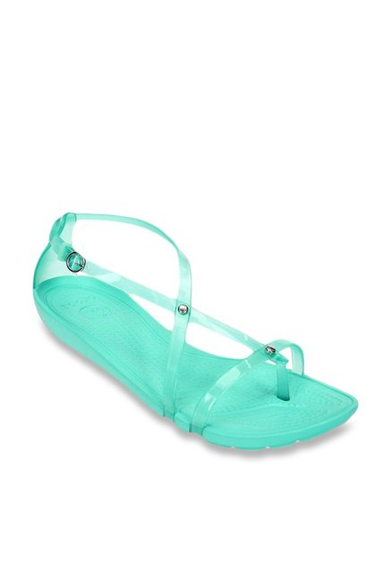 fe48074c038a1 Buy Crocs Really Sexi Island Green Cross Strap Sandals for Women ...