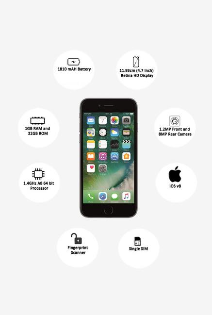 Apple iPhone 6 32GB (Space Grey)