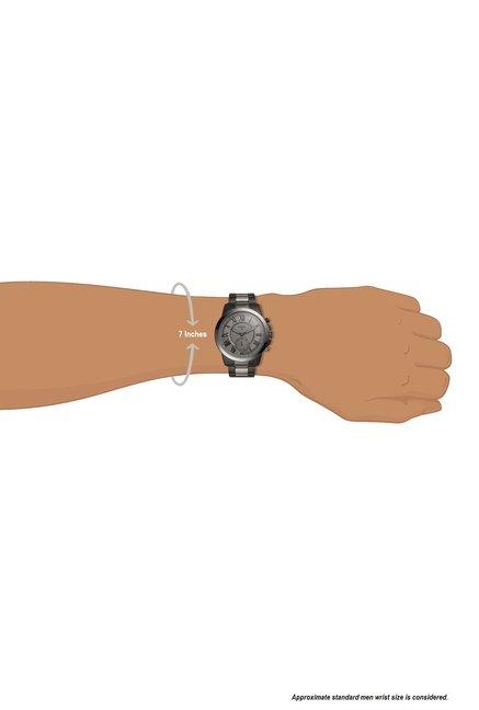 Buy Fossil Ftw1139 Q Grant Hybrid Smartwatch For Men For Men At Best