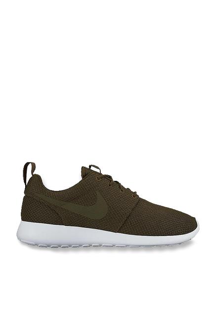 bbd681b8c6320 Buy Nike Roshe One Dark Loden Sneakers for Men at Best Price   Tata CLiQ