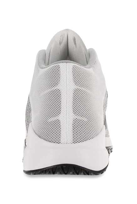 85c4a380903b Buy Nike Zoom Ascention White   Wolf Grey Basketball Shoes for Men ...