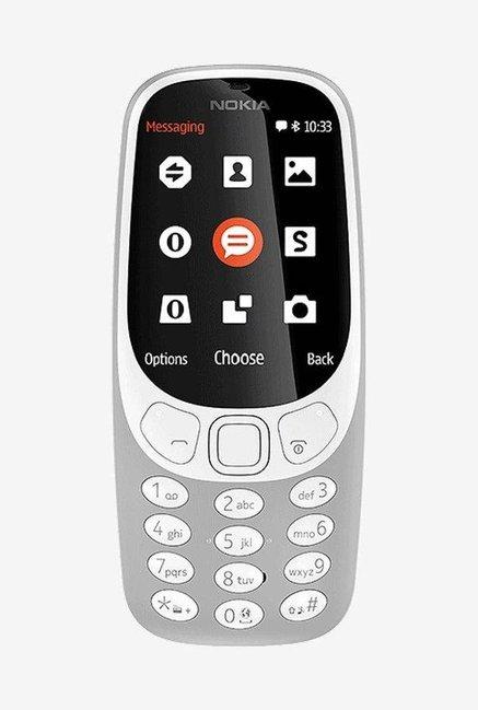Nokia 3310 (2017) 16 MB (Grey Matte) Dual SIM