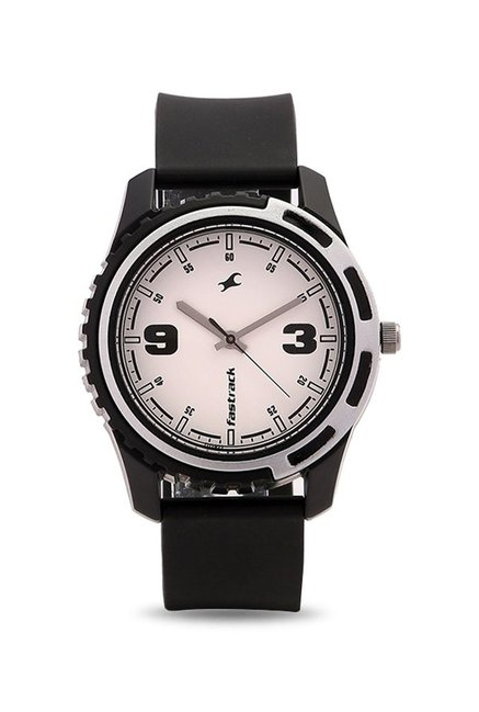 Fastrack 3114PP01 Casual Analog White Dial Men's Watch (3114PP01)