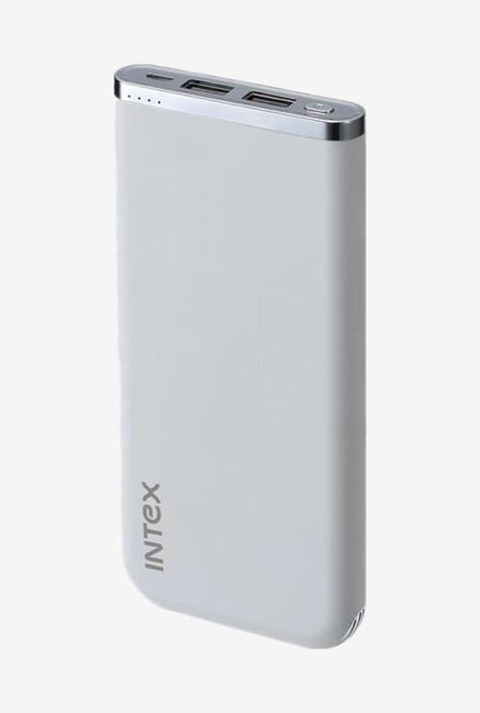 Intex IT-PBA 10K Poly 10000mAh Polymer Power Bank (White)