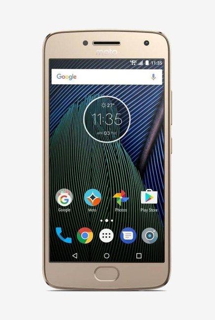 Moto G5 Plus XT1686 32GB Gold Mobile
