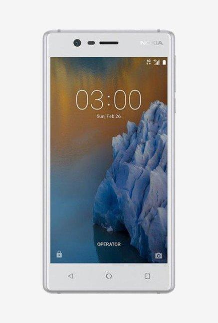 Nokia 3 16GB (Silver) 2 GB RAM, Dual SIM 4G