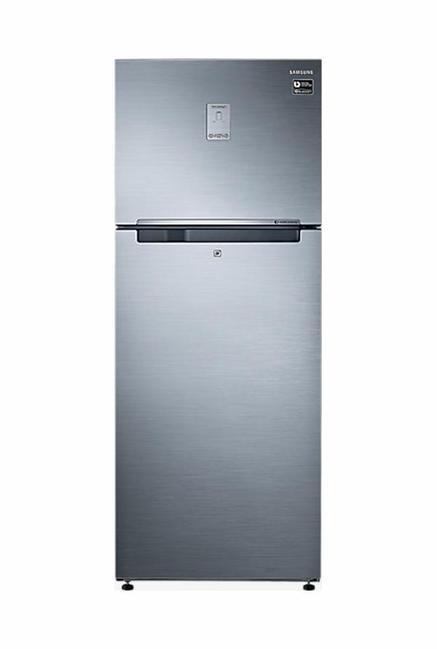 Samsung RT37M5538S9 345L Double Door Refrigerator (Refined Inox)