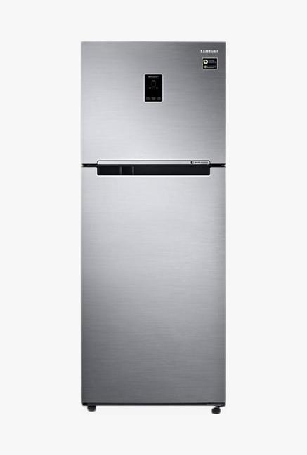 Samsung RT39M5538S9 394L Double Door Refrigerator, Refined Inox
