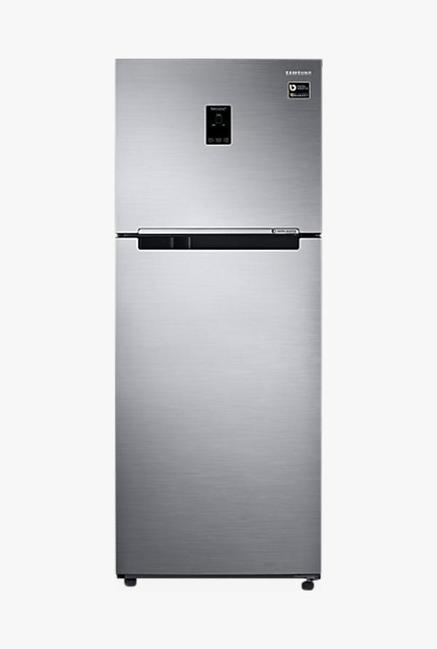 Samsung RT39M5538S8 394L Double Door Refrigerator, Elegant Inox