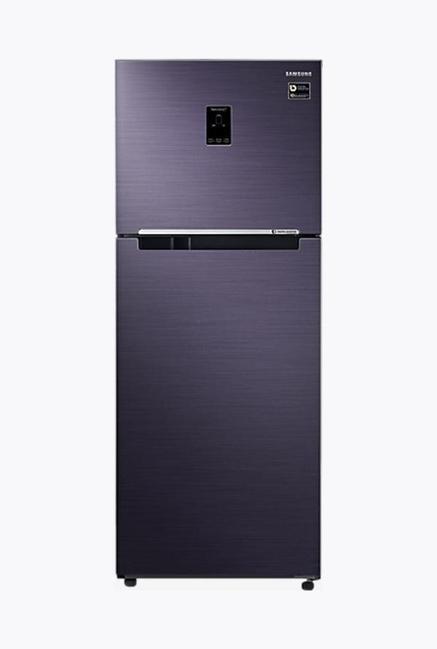 Samsung RT39M5538UT 394L Double Door Refrigerator, Pebble Blue