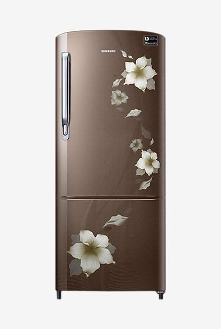 Samsung RR20M172ZD2 192L 3S Refrigerator (Star Flower Brown)