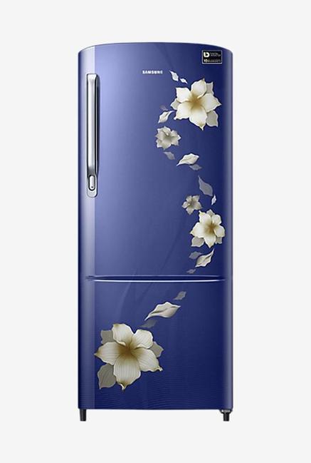 Samsung RR20M172ZU2 192L 3S Refrigerator (Star Flower Blue)