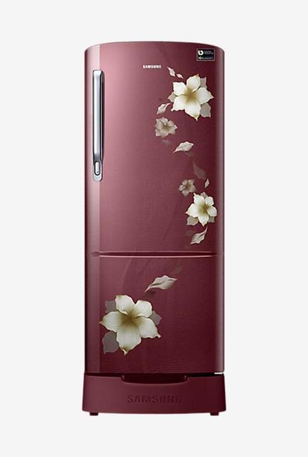 Samsung RR20M182ZR2 192L 3S Refrigerator (Star Flower Red)