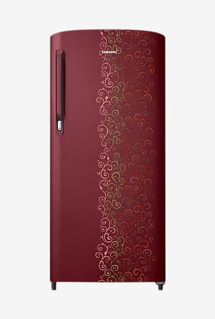 Samsung RR19M1412RJ/HL 192L 2S Single Door Refrigerator, Royal Tendril