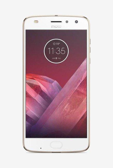Motorola Moto Z2 Play 64 GB (Fine Gold) 4GB RAM, Dual SIM 4G