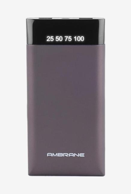 Ambrane Plush PP15 15000 mAh Power Bank (Grey)