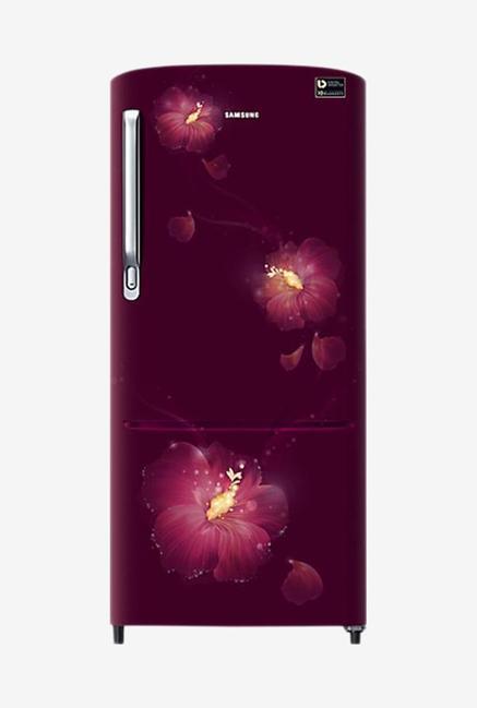 Samsung RR20M172YR3 192L 4S Refrigerator (Rose Mallow Plum)