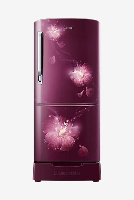 Samsung RR20M182YR3 192L 4S Refrigerator (Rose Mallow Plum)