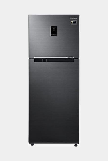 Samsung RT39M5538BS-TL 394 L 3 Star Frost Free Double Door Refrigerator, Black Inox