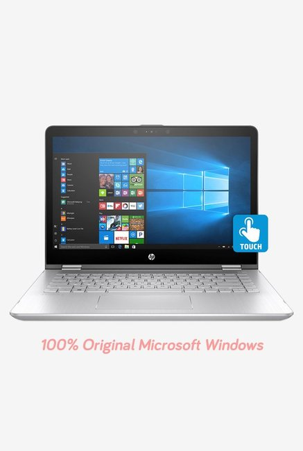 HP Pavilion x360 14-ba075TX(i3 7 Gen/4GB/1TB/W10+MS-Off/2GB)