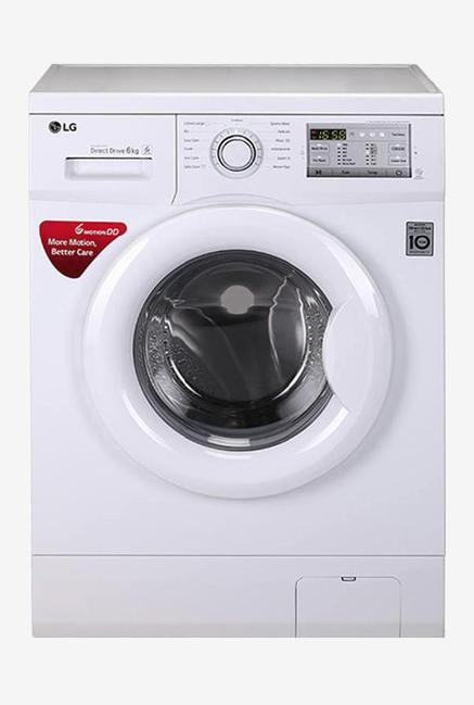 LG FH0H3NDNL02 6 Kg Fully Automatic Washing Machine (White)