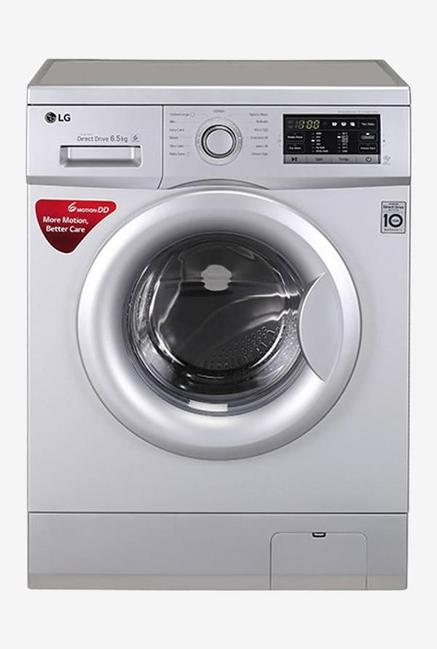 LG FH0G7WDNL52 6.5 Kg Fully Automatic Washing Machine Silver